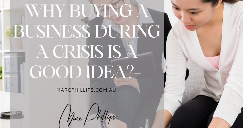 Buying a Business in a Crisis