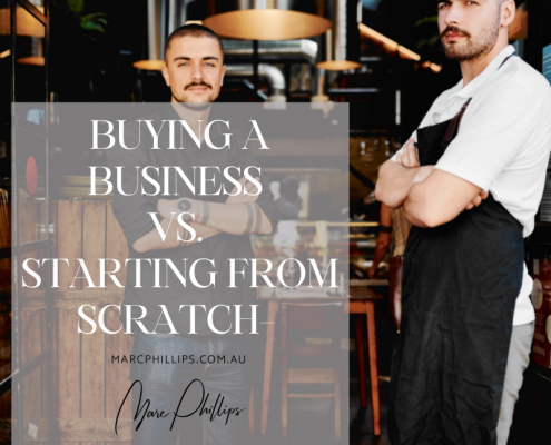 Buying a Business VS Starting from Scratch
